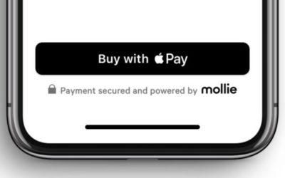 Apple Pay disponible sur Mollie