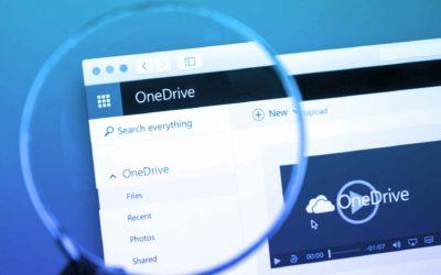 Comment configurer OneDrive et la synchronisation de mes photos ?